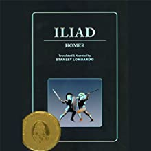 Iliad Audiobook by  Homer, Stanley Lombardo - translator Narrated by Stanley Lombardo, Susan Sarandon - introduction
