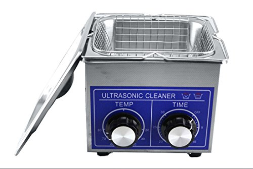 Jakan Mechanical Ultrasonic Cleaning Kit Jwelry Ultrasonic Cleaner 3L 40KHZ with Heater and Timer.
