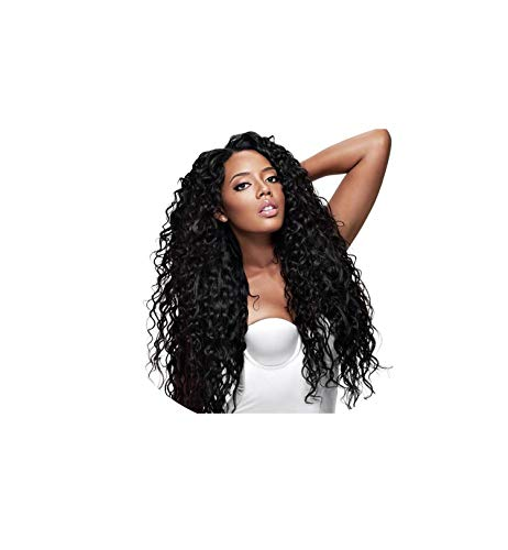 Full Lace Human Hair Wigs Curly Wigs For Black Women 150% Density Remy Brazilian Human Hair 10-26 Full Lace Wigs With Baby Hair,#1B,14inches,100% Hand-tied