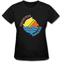 SUNRAIN Women's The Fifth Element Fhloston Paradise Logo T shirt