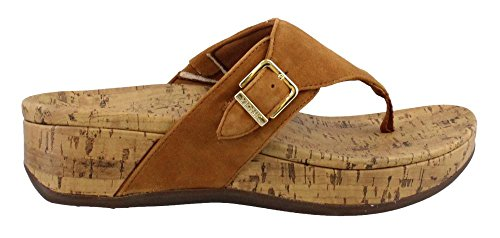 Vionic Women's, Marbella Thong Sandal Caramel 10 M