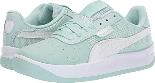 (PUMA Women's California Casual Fair Aqua/Puma White/Puma White 7.5 B US)