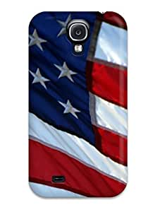 Hot Tpye Flag Case Cover For Galaxy S4