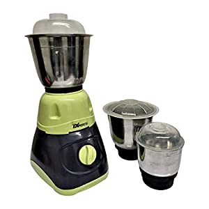 Mayumi® GLS EXPERTS Mixer Grinder 550 Watts with 3 SS Jar for Home Kitchen (GREEN – GREY)