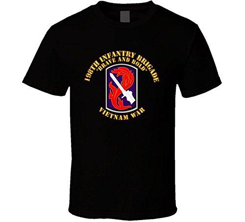 XLARGE -198th Infantry Brigade - Vietnam War - Black ()