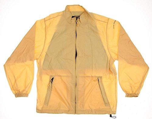 New Womens Sun Mountain Provisional Rain Suit Medium M Tan/Black