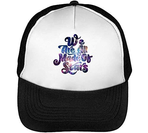Beisbol Blanco Gorras Stars We Hombre Negro Cosmic Of Made Are Snapback qvxwXC8