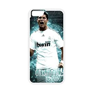 Cristiano Ronaldo iPhone 6 Plus 5.5 Inch Cell Phone Case White delicated gift US6933036