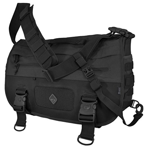 HAZARD 4 Defense Courier Laptop Messenger Bag with Molle, Black