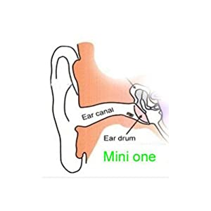 COOMAX Mini Spy Earpiece Invisible Earphone Cheat Covert Earpiece for Mobile Phone