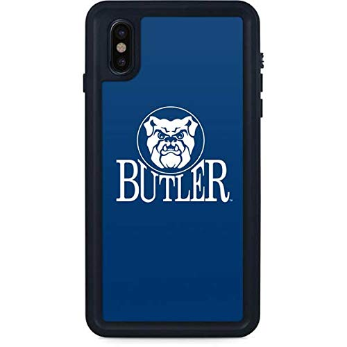 Skinit Butler Bulldogs Waterproof Case for iPhone Xs Max - Officially Licensed Phone Case - Fully Submersible - Snow, Dirt, Water Protected iPhone Xs Max Cover