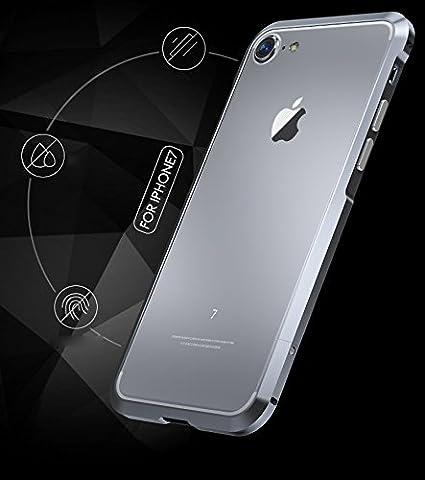 671dcf2e229 BLADE luphie Bumper Case de lujo Metalico Aluminio Protector Aviación Anti  Golpes Delgado iPhone 7 Plus y Iphone 8 Plus ROJO (5.5): Amazon.com.mx: ...