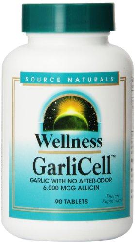 Source Naturals Wellness Garlicell, 90 comprimés