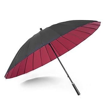 HAN-NMC un paraguas para un hombre y un hombre con una sombrilla grande,