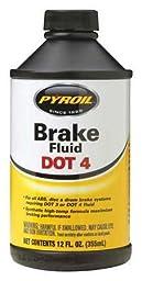 Brake Fluid 12 Oz Dot 4