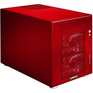 Lian Li PC-V354R Red Aluminum MicroATX Mini Tower Computer Case