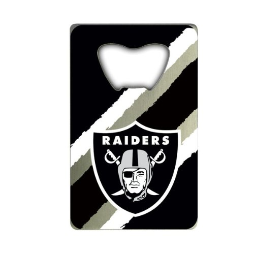 NFL Oakland Raiders Credit Card Style Bottle Opener