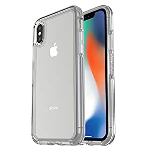 OtterBox 77-57119 SYMMETRY CLEAR SERIES Case for iPhone X (ONLY) - Retail Packaging - CLEAR