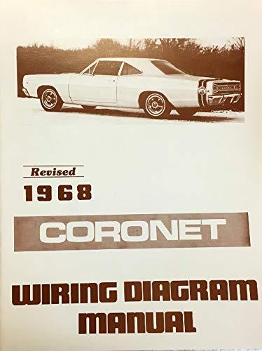 1968 Dodge Coronet Factory Electrical Wiring Diagrams Schematics Dodge Chrysler Amazon Com Books