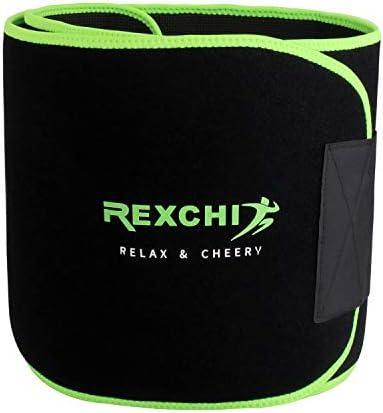 REXCHI Waist Trainer for Women Men,Premium Waist Trimmer Belt Postpartum- Body Shaper Belt,Sport Girdle Compression Belly Weight Loss L M S