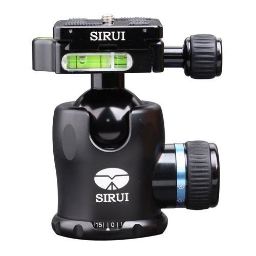 Sirui K-20X 38mm Ballhead with Quick Release, 55.1 lbs Load Capacity by Sirui