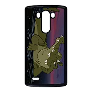 LG G3 Cell Phone Case Black Disney Peter Pan Character The Crocodile (Tick Tock) Phone cover W9298274
