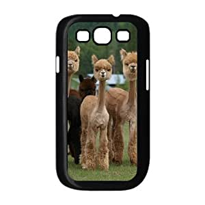 Alpaca Custom Cover Case with Hard Shell Protection for Samsung Galaxy S3 I9300 Case lxa#919814