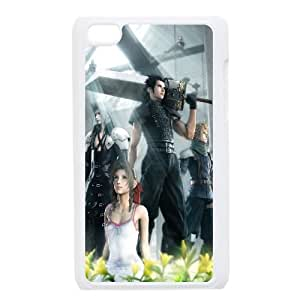 Final Fantasy Vii Game iPod Touch 4 Case White Exquisite designs Phone Case TF714JH4