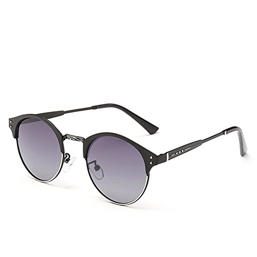 My.Monkey Womens Fashion Polarized Gradient Lens Small Frame Warfarer - Sunglasses Optics Star Suncloud