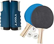 JOOLA Essentials Series Variant 2-Player Competition Ping Pong Ultimate Net and Paddle Bundle Set - Includes 1