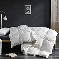 related image of APSMILE Goose Down Comforter King Size -100