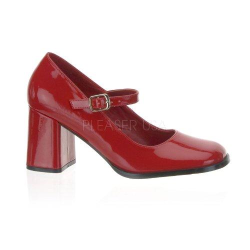 Funtasma Gogo-50 3 Inch Block Heel Mary Jane Pump Size 5