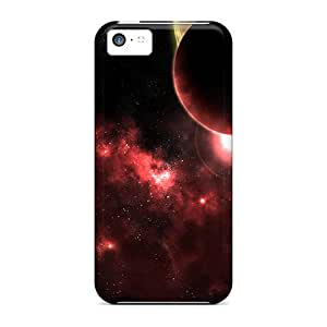 Tpu Cases Covers Compatible For Iphone 5c/ Hot Cases/ 3d Space Black Friday