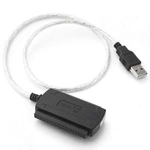 MegaTek® Multifunción Nuevo USB 2.0 al Cable de SATA o IDE