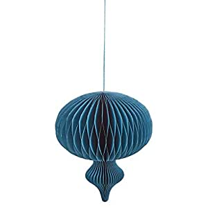 Decorative Paper Hanging - Blue