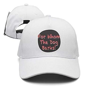 Men/Women Adjustable for Whom The Dog Barks_ Baseball Cap 90s Trucker Hat