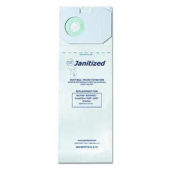Amazon.com: janitized jannfcptw162 bolsas filtro aspiradora ...