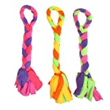Kyjen Fleecy Clean Jumbo Knot Tug Dog Toy, My Pet Supplies