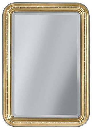 Spiegel Gold mit Swarovski, Spiegel rechteckig in Gold, Einrichtung ...