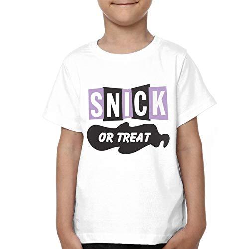 - Taotao Snick Or Treat Childrens Unique Short Sleeve T-Shirt 3T Black