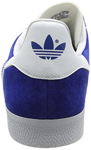 adidas Gazelle, Scarpe da Ginnastica Basse Unisex - Adulto, Blu (Collegiate Royal/White/Gold Metallic), 48 EU: Amazon.it: Scarpe e borse