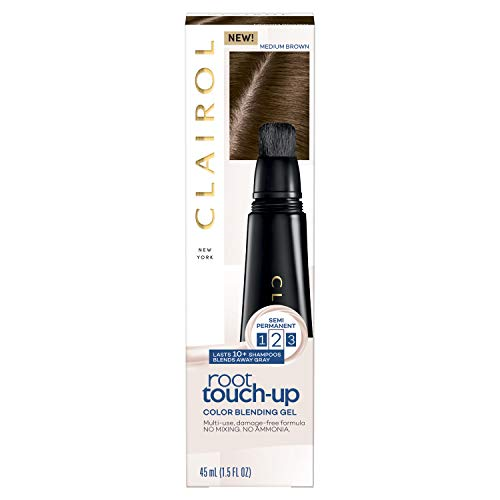 Clairol Root Touch-Up, Color Blend Gel, 5 Medium Brown, 2Count ()