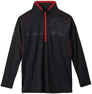 サンライン(SUNLINE) TERAX COOL DRY シャツ(長袖) LL SUW-5570CW ブラック