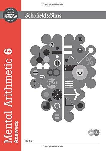 Mental Arithmetic Answer Book 6 (Book 7 of 7): Key Stage 2, Years 3 - 6 by T R Goddard (2016-01-04)