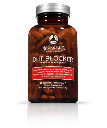 DHT окон с иммунной поддержки, дополнил высокой потенции Saw Palmetto, зеленый чай & Пробиотики - 120 подсчета бутылку