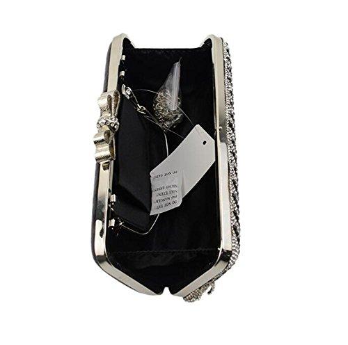 Diamants Rectangle Sacs de Robe Glands De WBAG Main Pochette Mariage Sac De Mariage Femmes Épaule À IpwAqP