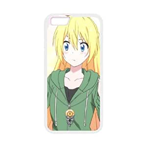 iPhone 6 Plus 5.5 Inch Cell Phone Case White nisekoi D4603150