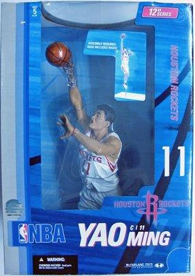 - Yao Ming McFarlane NBA 12 inches (Rockets / White) / Yao Ming