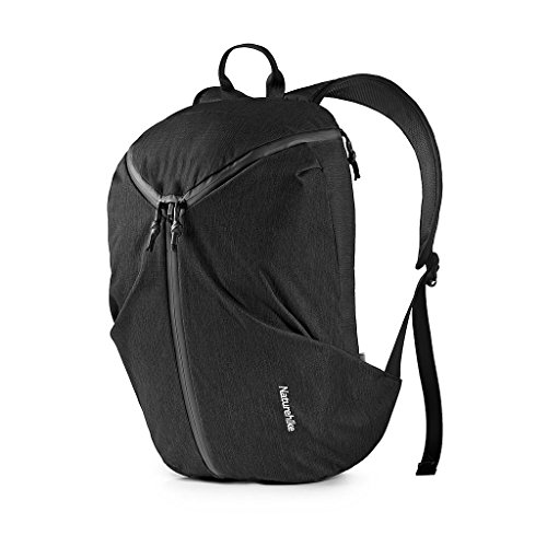 Price comparison product image Naturehike Multipurpose Casual Daypack Portable Camping Backpack Sports Bag Business Laptop Backpack Travel Bag (Black)