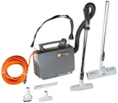 Make your cleaning experience easier and more comfortable with the Hoover CH30000 PortaPower commercial lightweight canister vacuum cleaner! This reliable commercial vacuum can clean tight places and large spaces with its fabulous features. A...
